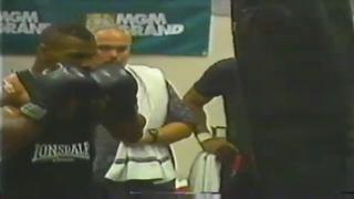 Mike Tyson Heavy Bag Training Highlights HD
