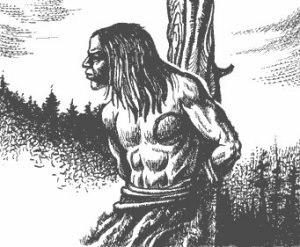Жестокие обряды и пытки дикарей Одним из немногих авторов, описывавших жестокие, порой доходившие до откровенных зверств пытки дикарей, был Дж.Р.Скотт. В своей книге под названием «История