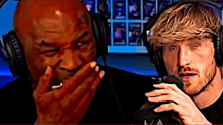Mike Tyson eats shrooms and scares Logan Paul