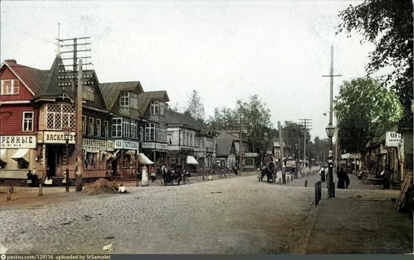 Эксклюзивные цветные фотографии Петербурга начала 20 века - часть 2, изображение №9