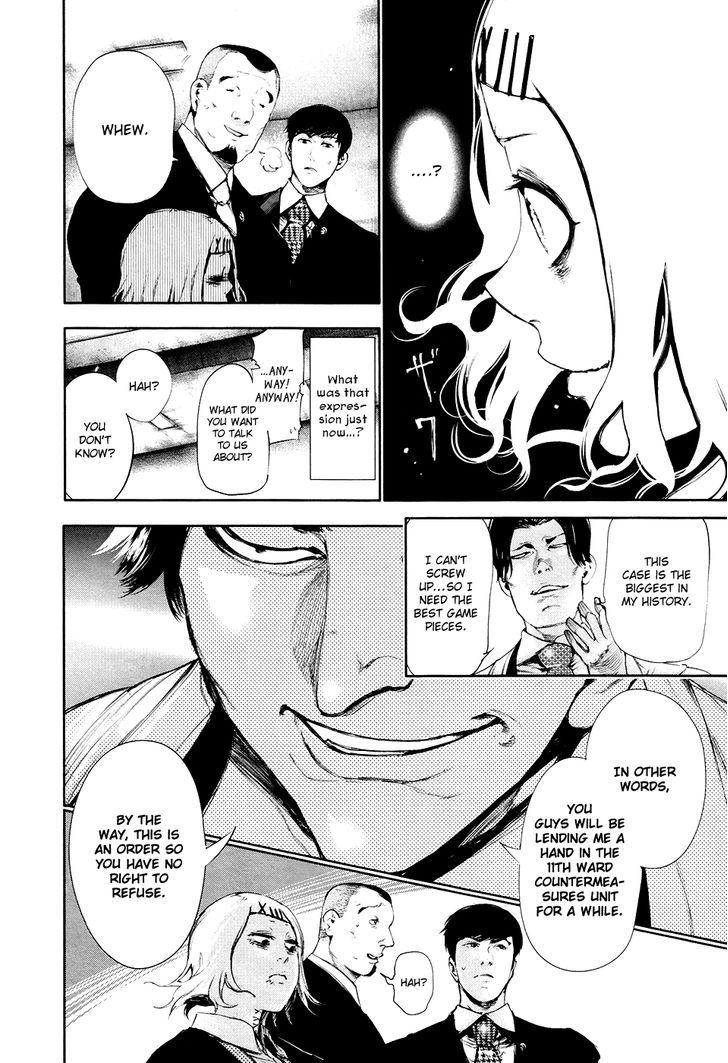 Tokyo Ghoul, Vol. 6 Chapter 55 Plot, image #18