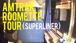 Amtrak Superliner Roomette Tour