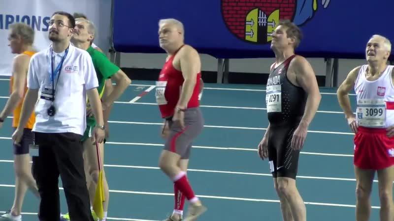 2 день 25 марта Утренняя программа чемпионата мира Masters полёгкой атлетике Torun 2019
