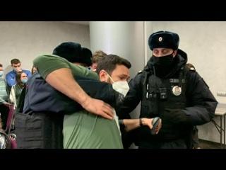 Задержание Ильи ЯШИНА на форуме муниципальных депутатов в Москве //  г.