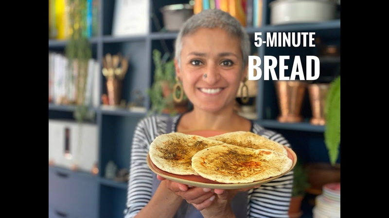 5 MINUTE BREAD Quick and delicious flatbreads Perfect bread in Minutes Food with Chetna