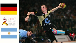 Germany vs Argentina. Full match. Handball World Men's Championship 2007