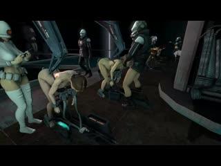 Alyx Vance - group sex; rape; orgia; oral sex; minet; blowjob; deepthroat; facefuck doggystyle 3D sex porno hentai [Half-Life 2]