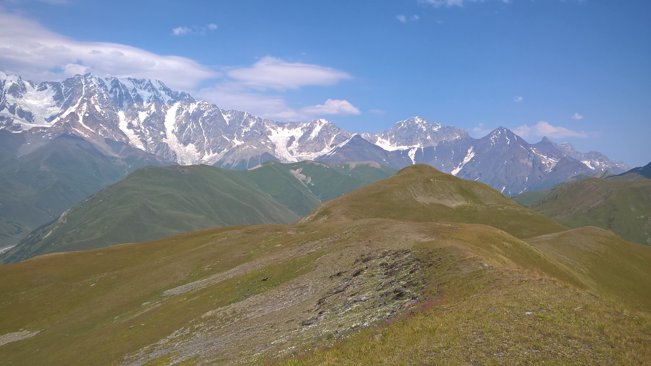 Mountains of Upper Svanetia