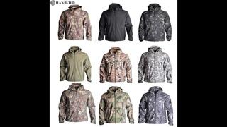 Армейская камуфляжная страйкбольная куртка, мужская военная тактическая куртка, зимняя водонепроницаемая флисовая куртка,