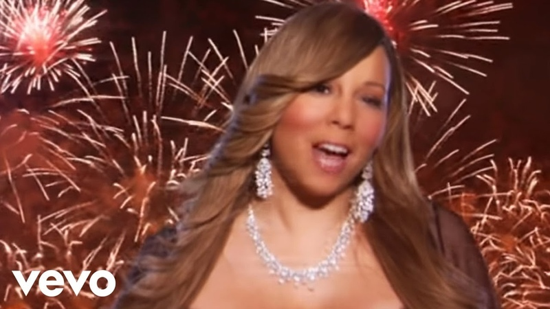 Mariah Carey Auld Lang Syne The New Year's Anthem Fireworks Version