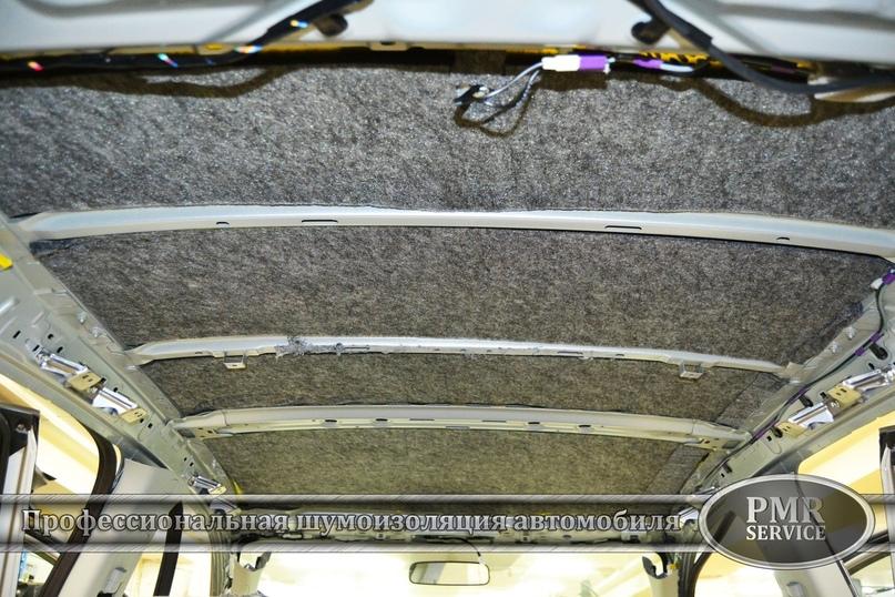 Комплексная шумоизоляция Mitsubishi ASX, изображение №7