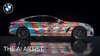 The Ultimate AI Masterpiece:  BMW 8 Series Gran Coupe | BMW USA