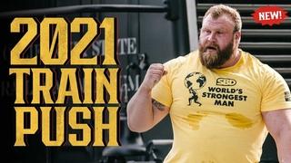 "*NEW* 2021 Train Push: Johnny ""Handsome"" Hansson | World's Strongest Man"