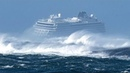 Вот что бывает, когда корабли попадают в сильный шторм!