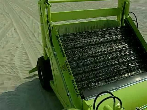 SURF RAKE Beach Cleaner S Belt Learn About It