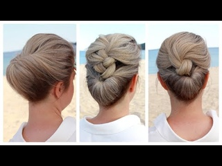 💦🔥 3 Easy DIY Summer Hairstyles 💦🔥 for short to medium hair by Another Braid