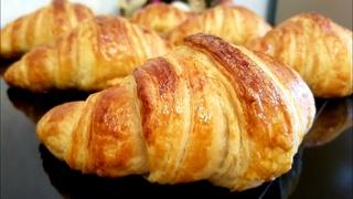 Круассаны, как в Пекарне! Они Обалденно Вкусные - Слоеные и Хрустящие, самые настоящие