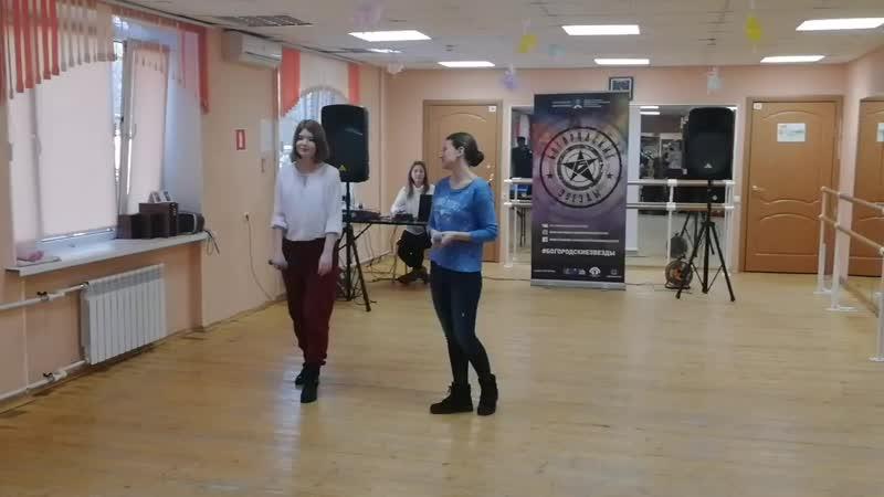 Астронавт Соня Брикова и Лена Замалдинова Б3 2019