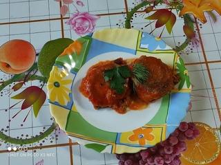 Котлеты из гречки с грибами, в томатном соусе от Луча  Buckwheat cutlets with mushrooms 蘑菇荞麦肉饼