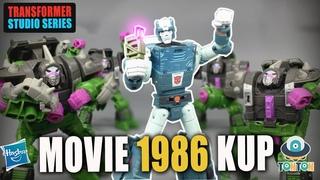 Transformer Studio Series Movie 1986 Deluxe Kup Review トランススタジオシリーズクップ G1 映画 1986