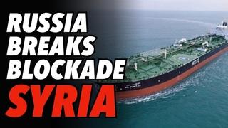 Moscow Breaks US Blockade of Syria, Destroys Militant Base