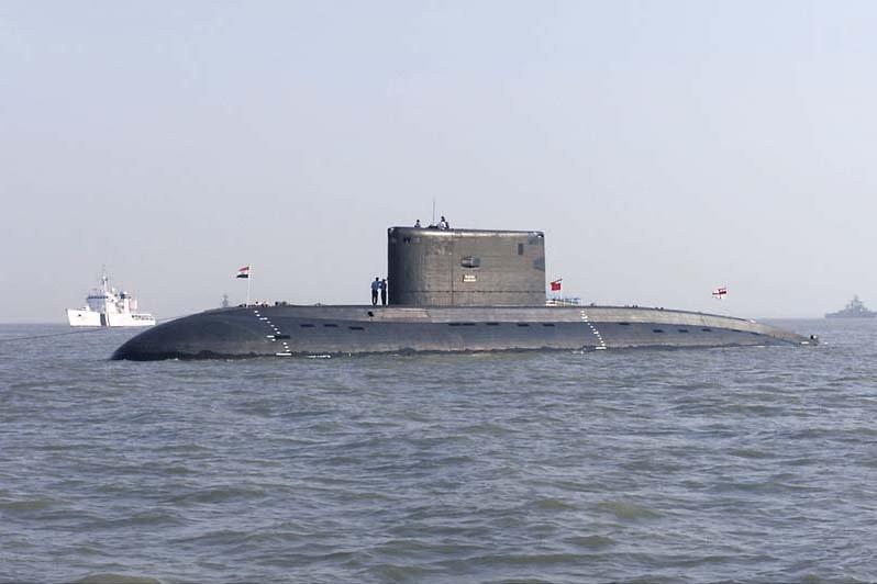 Индийская подлодка INS Sindhurakshak (S63)