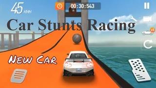Car Stunts Racing:Mega  car, second section