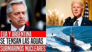 SORPRENDIÓ A TODOS! ENVÍA EUA SUBMARINO NUCLEAR A COSTAS ARGENTINA. LAS MALVINAS EN DISPUTA NAVAL