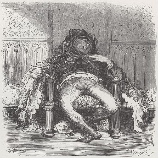 Трибуле  придворный шут французского короля Франциска I, правившего в 1515-1547 годах, однажды нарушил приказ, запрещавший ему шутить над королевой и придворными дамами
