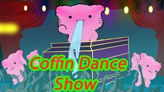 Funny Trolls Funniest coffin dance meme battle cats ver Pink Bong Cat