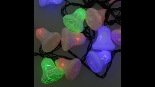 1431366 Электрогирлянда, цветные лампы