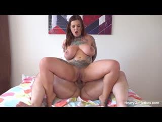 Модель с огромными сиськами жестко трахает толстяк  [2021, hardcore, anal, blowjob,tattoo,curvy, huge natural boobs,анал порно ]