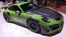 Techart 2019 Porsche 911 Turbo S GT Street RS - Exterior Interior Walkaround 2019 Geneva Motor Show