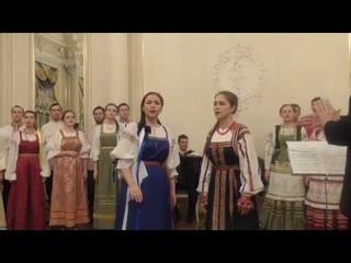 Ах ты, степь широкая - Вероника Курбанмамадова и Юлия Черняновская