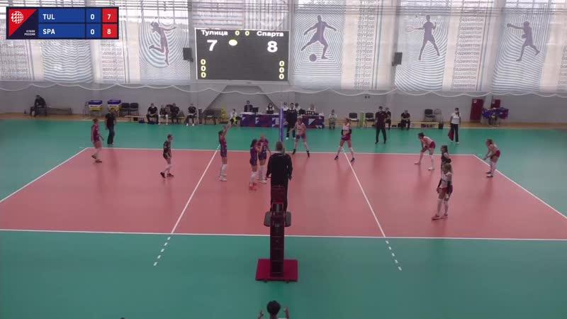 Волейбол Женщины Кубок России Тулица Спарта 09 09 2020