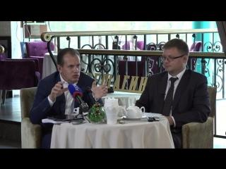 Пресс-завтрак с заместителем губернатора В.В.Тушиновым