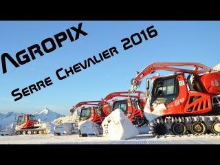 [GoPro] PistenBully 600 E+, 600W polar, and more in Serre Chevalier / Eye of th Snowcat