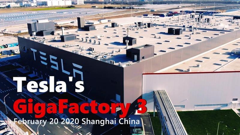 (Feb 20) Gigafactory 3 resumes production of 1,000 Model 3s per week