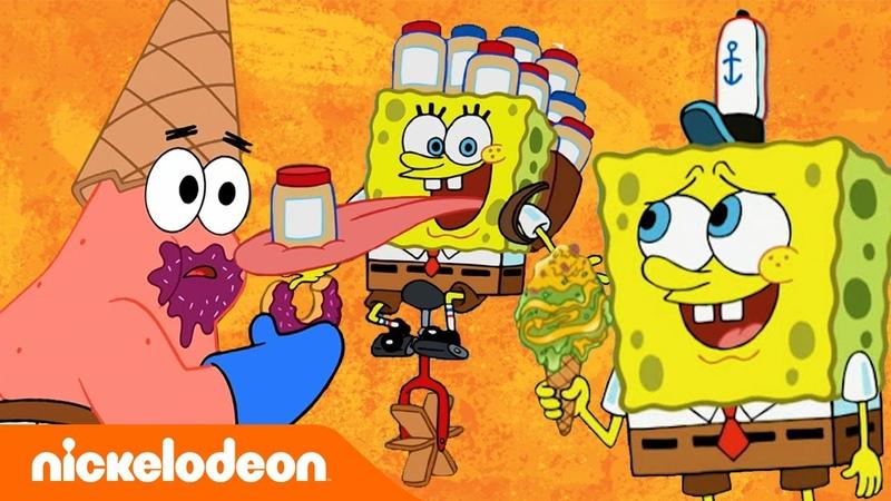 Губка Боб Квадратные Штаны 14 самых соблазнительных блюд из Губки Боба Nickelodeon Россия