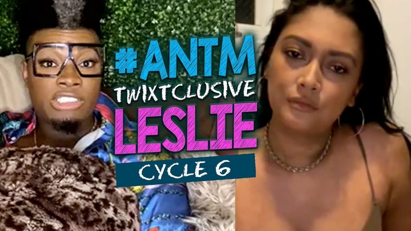 ANTM Cycle 6 Leslie Top Model Diary Girl Crushes the Disqualified Trans Model Body Positivity