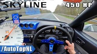 Paul Walker Skyline R34 on AUTOBAHN [NO SPEED LIMIT] by AutoTopNL