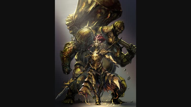 Dark Souls Giant Dad vs Ornstein Smough