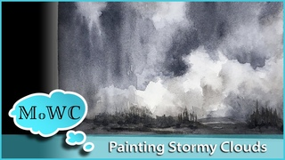 Stormy Clouds Demo & Daniel Smith Signature Grays Review +