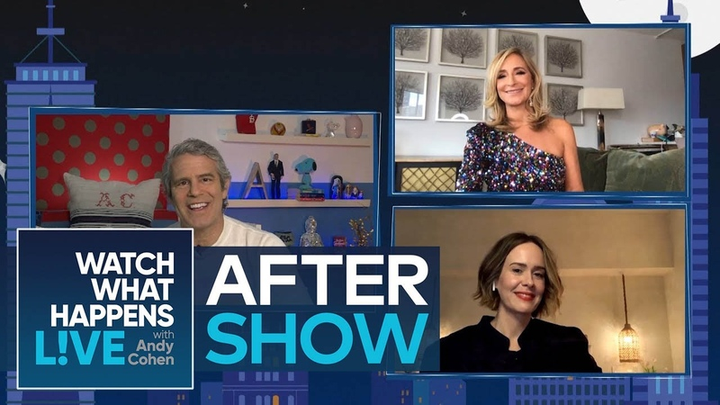 After Show Will Sarah Paulson Comment on Lea Michele WWHL