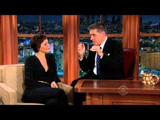 Craig Ferguson - Maggie Gyllenhaal 21 Jun 2013