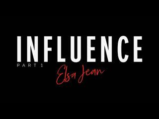 Elsa Jean  Ryan Mckay - Tushy Series Influence,Part 1