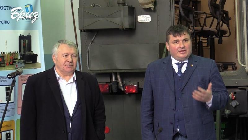 Брифінг Генерального директора концерну Укроборонпром Юрія Гусєва на Одеському авіаційному заводі