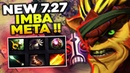 7.27 NEW Imba Meta with Voodoo Mask for BB Spammers by TOP 1 Dotabuff Bristleback Master Tier Dota 2