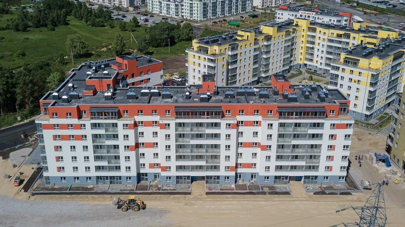 Отчет о ходе строительства ЖК «Апрель» июнь 2020, изображение №24