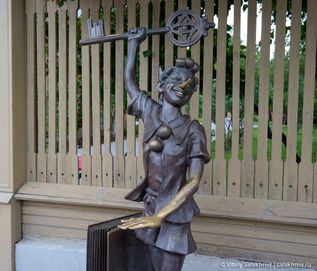 Скульптура Буратино, Самара 2020